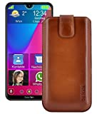 Suncase Genuine Leather Case Slim Edition Compatible with