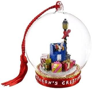 Flavia Milano MEMORY GLOBE Christmas Gift Mail Box Seasons Greetings