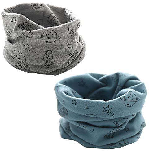 PAADIYA Boomly Autunno e Inverno Calda Multifunzione Sciarpa per bambini Loop o-ring...
