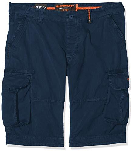 Superdry Herren Core Cargo Lite Shorts, Blau (Battleship Navy Q2s), W(Herstellergröße: 30)