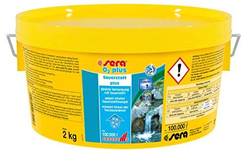 sera 07211 pond O2 plus 2 kg - Durchatmen mit reinigendem Sauerstoff für 100.000 Liter