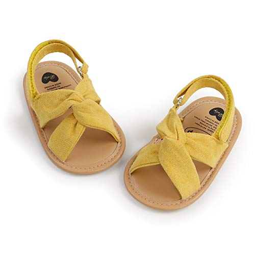 Infant Baby Girl Sandals Soft Summer Baby Girls Wedding Dress Flats Shoes Newborn Crib Shoes First Walkers