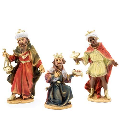 MAROLIN Heilige DREI Könige, zu 12cm Fig. (Kunststoff)