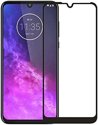 Pelicula De Vidro 3d Tela Toda Motorola Moto E6 Plus, Cell Case, Película de Vidro Protetora de Tela para Celular, Preto