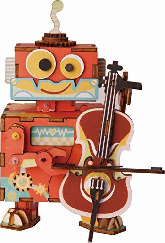 Robotime DIY Spieluhr - Kleiner Darsteller