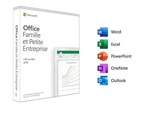 Office Famille et Petite Entreprise|2020|1 appareil|1 an|PC/Mac/Android etc|Telechargement