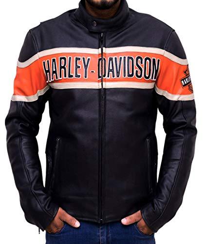 westerse mode mannen, vrouwen Harley Davidson overwinning Lane echt lederen jas