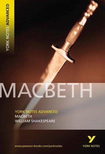 Price comparison product image Macbeth: York Notes Advanced