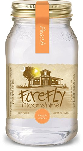 Firefly Moonshine Peach Corn Whiskey 30,45% 0,75l Flasche