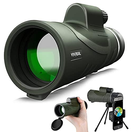 Monocular Telescope - 12X42 Monocular for Bird...