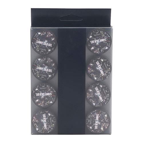 Gel Nagellak, 12 stuks Langdurige Tekening Nagels Gel Set Glanzende UV Gel Nagel Art Polish Accessoires voor Nail Art Design(1#)