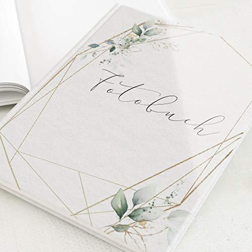 sendmoments Fotoalbum zum Selbstgestalten, Hochzeit, Hochzeitsbouquet, personalisierbar mit eigenem Bild & Text, Hochformat, 32 leere weiße Seiten oder mehr