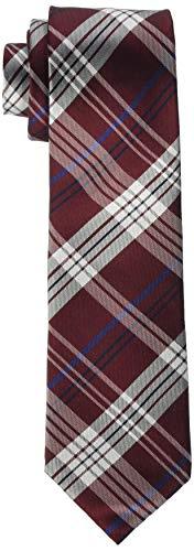 Seidensticker Herren Modern 7 cm breit Krawatte, Mehrfarbig (Rot 48), One Size (Herstellergröße:)