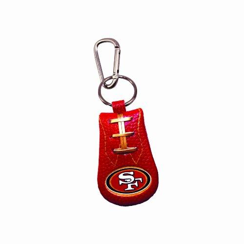 San Francisco 49ers Team Color NFL Football Keychain Clip Sport Ball Keychains