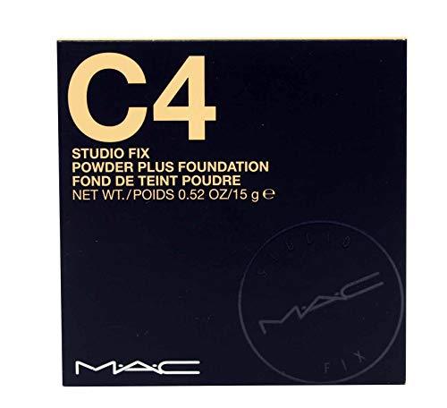 MAC Studio Fix Powder Plus Foundation C4, Multi, 0.52 Ounce (JL69060225)