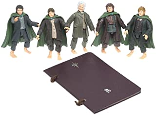 Lord of the Rings Boxed Gift Set - There and Back Again - Set of 5 Figures