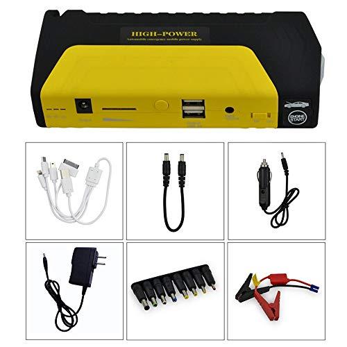 12 V 50800 mAh Auto Starthilfe-Set mit LED-Licht Mobile Power Autobatterie Ladegerät Notstart Power Bank Autobatterie Booster
