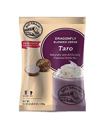 Big Train Dragonfly Blended Crème Frappe Mix Taro 3.5 Pound Bag