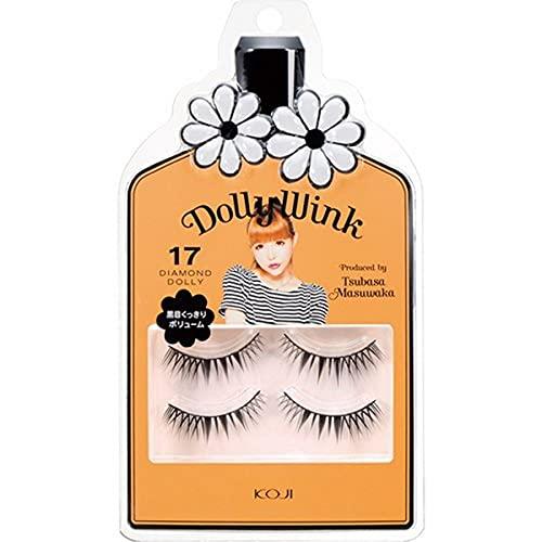 DOLLY WINK Koji False Eyelashes, No. 17 Diamond Dolly