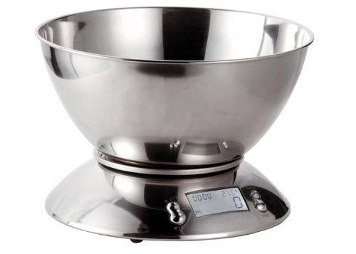 bilancia da cucina digitale 5583 acciaio inox 5kg/1g eva collection