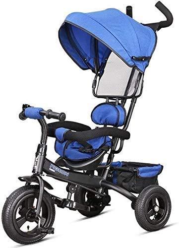 GPWDSN Veelzijdige Fiets Baby Kinderwagens Pram 1-5 Jaar Oud/Familie Draagbaar 50x106cm (Kleur: Rood)