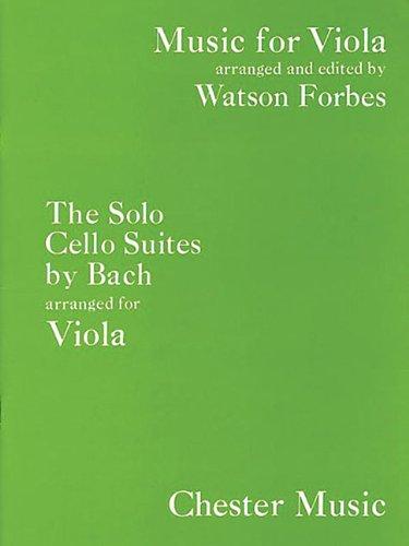 J.S. Bach: The Solo Cello Suites (Viola) (Music for Viola)