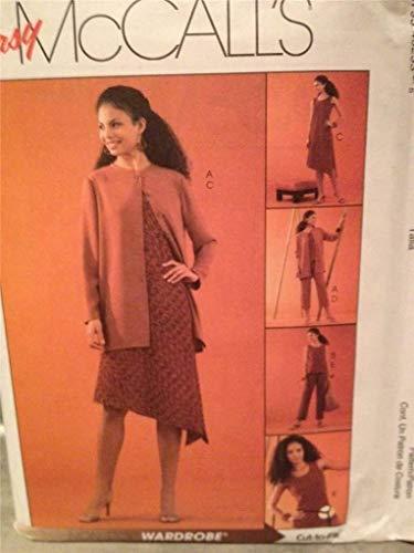 McCalls 4523 - Patrones de Costura para Pantalones de Chaleco de Mujer (Tallas 36 a 44)