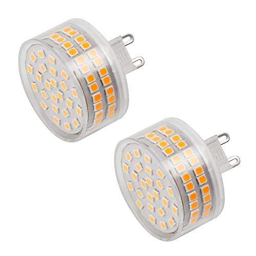 MENGS 2 Stück G9 LED Lampe 800lm Leuchtmittel Brine 12W LED Mais Licht Ersatz 95W Halogenlampen 3000K Warmweiß 360 ° Abstrahlwinkel CRI>80, AC 220-240V