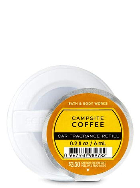 病愛人蒸気【Bath&Body Works/バス&ボディワークス】 クリップ式芳香剤 セントポータブル詰替えリフィル キャンプサイトコーヒー Scentportable Fragrance Refill Campsite Coffee [並行輸入品]
