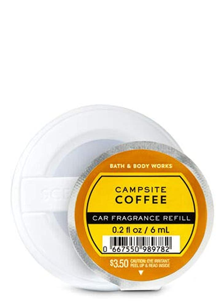俳優ヘッドレス規模【Bath&Body Works/バス&ボディワークス】 クリップ式芳香剤 セントポータブル詰替えリフィル キャンプサイトコーヒー Scentportable Fragrance Refill Campsite Coffee [並行輸入品]