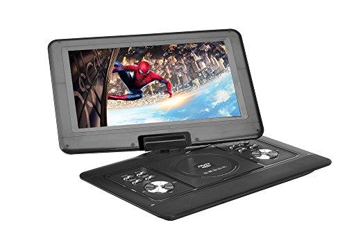 Generic 14 Inch Portable DVD Player - 270 Degree Rotating Screen, Region Free, 1280x800 Resolution, Hitachi Lens, Anti-Shock
