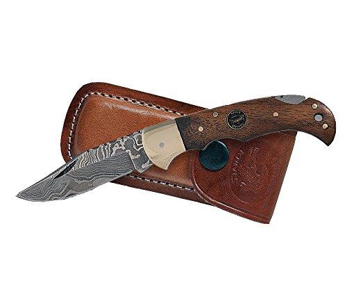 Croco Knives Klappmesser Damascus 3 Klingenlänge 7 cm, 16.7 cm, 331410