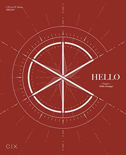 CIX - EP Album Vol.1 [Hello Chapter 1. Hello, Stranger] (Hello Ver.) - [Pre Order] Pack with Pre Order Benefit, Extra Decorative Sticker Set, Photocard Set
