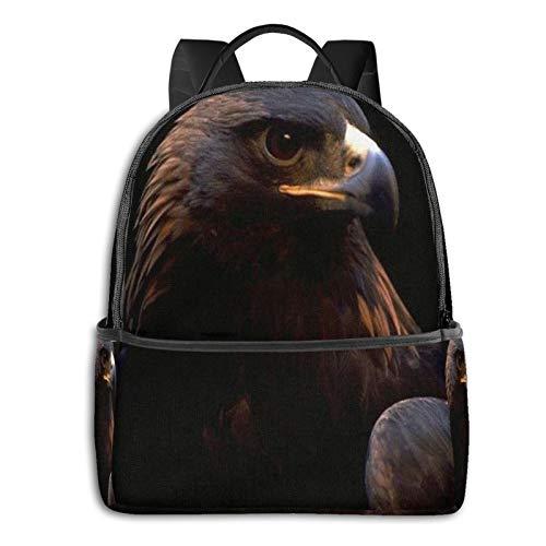 School Backpack for Men Women Teenager Daypack Fit 15.6 Inch Laptop Satchels Rucksack, Eagle 15 Casual Travel Backpack
