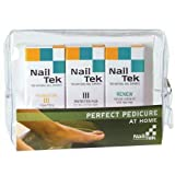 Nail Tek Pedicure Foundation Iii, Protection Plus, Renew-3pc