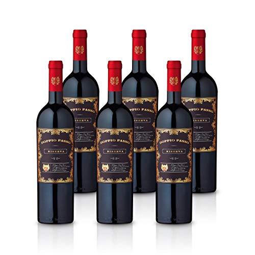 Doppio Passo Riserva Brindisi 2016   trockener Rotwein   italienischer Wein aus Apulien