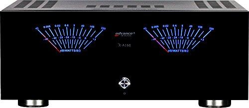 Advance Acoustic X-A160 Casa Cablato Nero amplificatore audio