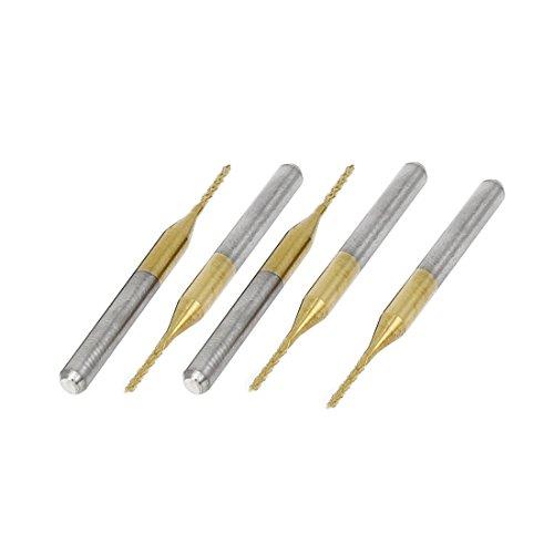 Sourcingmap a15032000ux0206 3,175 mm x 1 mm x 7 mm recubierto de titanio PCB CNC...
