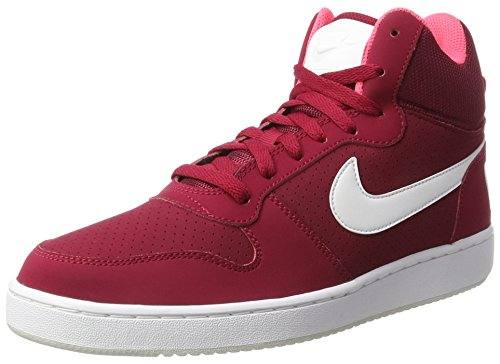 Nike Nike Damen Court Borough Mid Gymnastikschuhe, Rot (Noble Red/White/solar Red/Pure Platinum), 42 EU