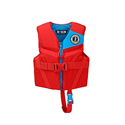 Mustang Survival - Child Foam Life Jacket - Imperial Red, Child (33 lbs - 55 lbs)