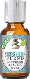 Stress Relief Blend 100% Pure, Best Therapeutic Grade Essential Oil - 30ml