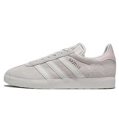 Adidas Gazelle W, Zapatillas de Deporte Mujer, Blanco (Blacla/Blacla/Tinorc 000), 38 2/3 EU