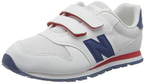 New Balance 500, Zapatillas, Blanco (NB White), 24 EU