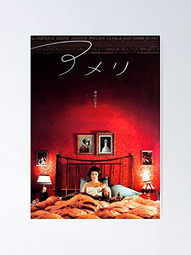 Amelie Japanese Movie Poster Artwork Poster 12.75' X 17' Inch No Frame Board for Office Decor, Best Gift Dad Mom Grandmother and Your Friends