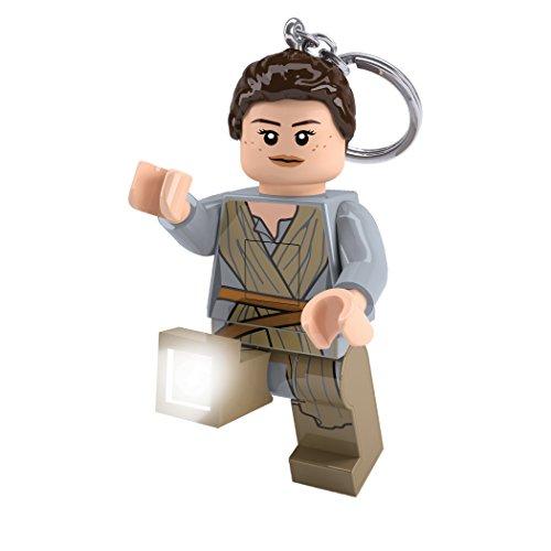 LEGO Star Wars- Lgl Ke102 Rey Portachiavi LED, Multicolore, Taglia Unica, LGKE102