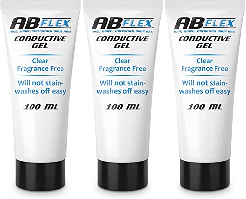 Best Conductive Gel, 3 x 100 ml, per TENS e EMS o Ab Flex Ab cintura