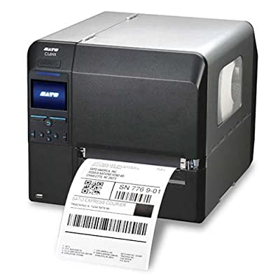 Sato WWCL91061 Series CL6NX Industrial Thermal Transfer Printer, 305 dpi Resolution, 6.5""
