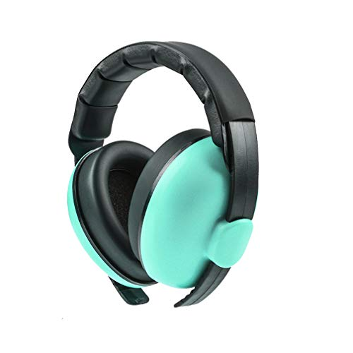 Beautyu Baby Ear Protection Noise Cancelling Headphones for Babies,Baby Headphones Baby Earmuffs,Hearing Protection Headphones–Ages 0-2 Years (Mint Green)