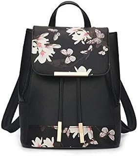 - style fashion backpack shoulder bag PU Leather Back Pack Laptop Bag leather backpack