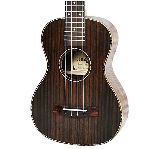 QLJ08 Ukelele acústico tenor de 26 pulgadas All Rosewood 4 cuerdas Guitarra...